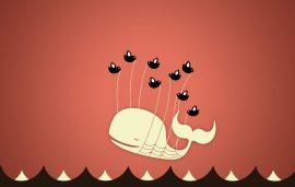 Papel de parede Fail Whale – Rosa