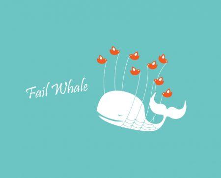 Papel de parede Fail Whale para download gratuito. Use no computador pc, mac, macbook, celular, smartphone, iPhone, onde quiser!