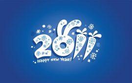 Papel de parede Feliz Ano Novo – Coelho