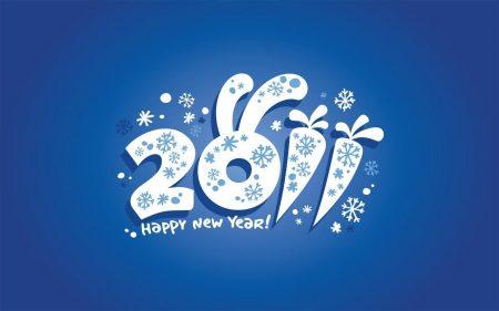 Papel de parede Feliz Ano Novo – Coelho para download gratuito. Use no computador pc, mac, macbook, celular, smartphone, iPhone, onde quiser!