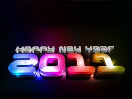 Papel de parede Feliz Ano Novo 2011