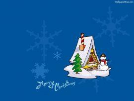 Papel de parede Feliz Natal – Casinha