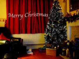 Papel de parede Feliz Natal – Em Casa