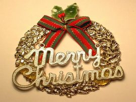 Papel de parede Feliz Natal – Enfeite