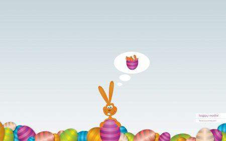 Papel de parede Feliz Páscoa – Coelho para download gratuito. Use no computador pc, mac, macbook, celular, smartphone, iPhone, onde quiser!
