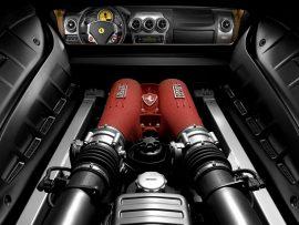 Papel de parede Ferrari – Motor