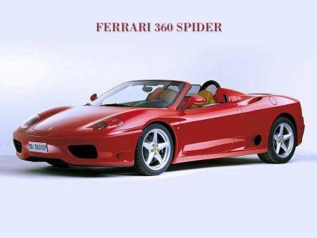 Papel de parede Ferrari 360 Spider para download gratuito. Use no computador pc, mac, macbook, celular, smartphone, iPhone, onde quiser!