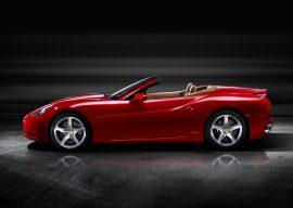 Papel de parede Ferrari Conversível