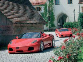 Papel de parede Ferrari F430 Novitec
