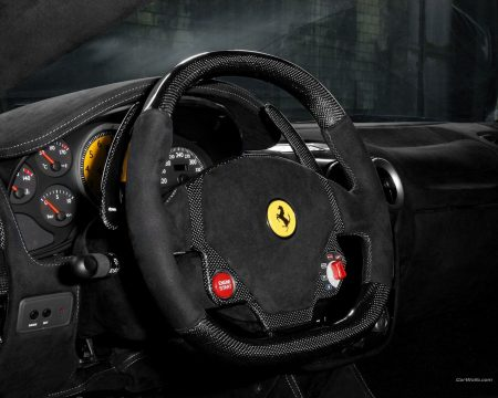 Papel de parede Ferrari F430 Volante para download gratuito. Use no computador pc, mac, macbook, celular, smartphone, iPhone, onde quiser!