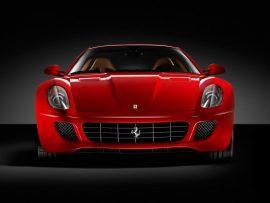 Papel de parede Ferrari vermelha