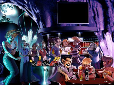 Papel de parede Festa Monstro para download gratuito. Use no computador pc, mac, macbook, celular, smartphone, iPhone, onde quiser!
