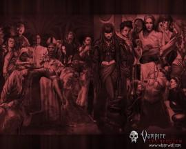 Papel de parede Festa de Vampiros