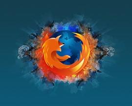 Papel de parede Firefox Abstrato