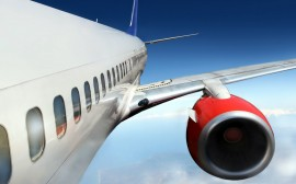Papel de parede Turbina de Avião