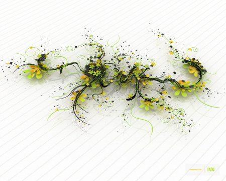 Papel de parede Flor Digital para download gratuito. Use no computador pc, mac, macbook, celular, smartphone, iPhone, onde quiser!