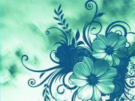 Papel de parede Flor Ornada
