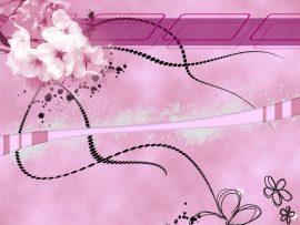 Papel de parede Flor Rosa