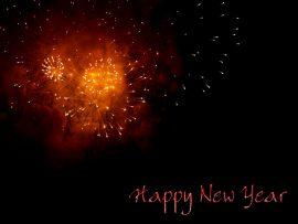 Papel de parede Fogos de Ano Novo