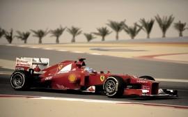 Papel de parede Fórmula 1, Ferrari – Fernando Alonso