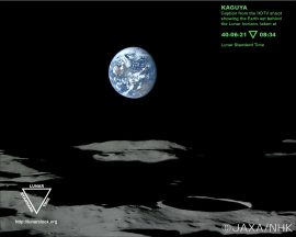 Papel de parede Foto na Lua