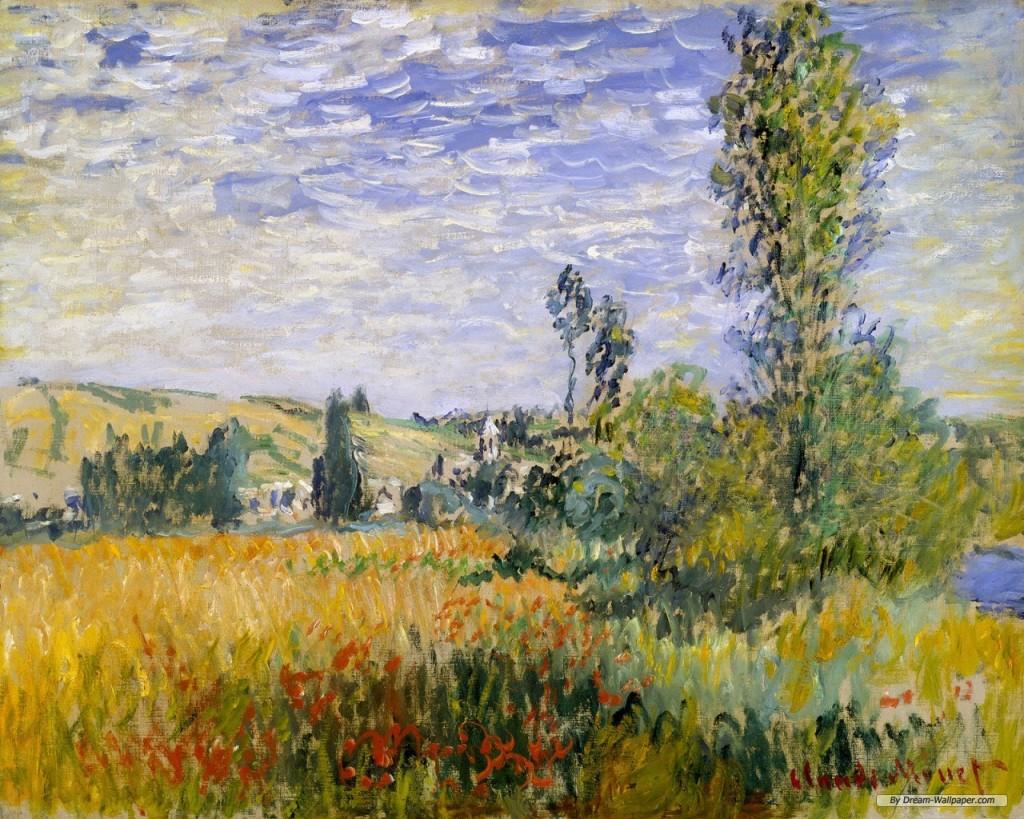 Papel de parede Monet – Arte para download gratuito. Use no computador pc, mac, macbook, celular, smartphone, iPhone, onde quiser!