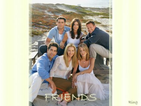 Papel de parede Friends – Na Praia para download gratuito. Use no computador pc, mac, macbook, celular, smartphone, iPhone, onde quiser!