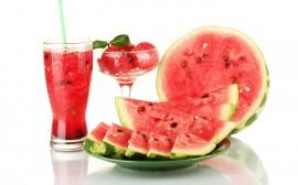 Papel de parede Fruta e Suco de Melancia