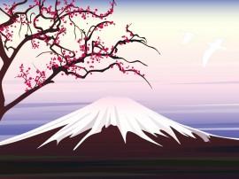 Papel de parede Japão – Monte Fuji
