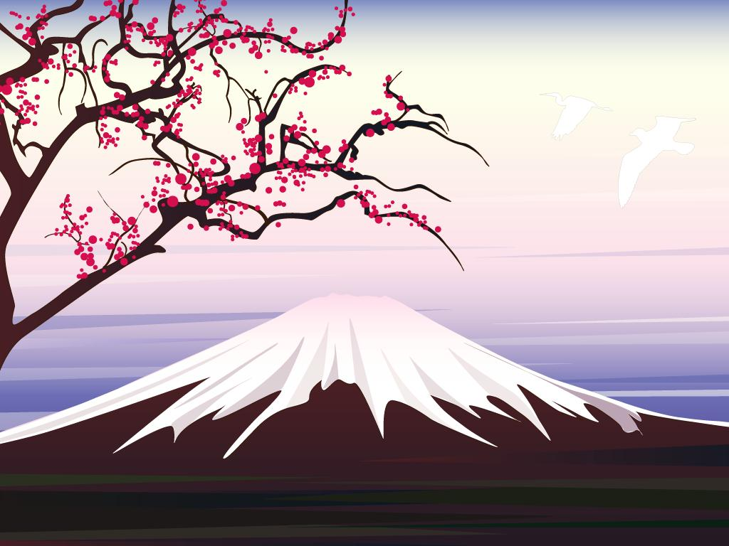 Papel de parede Japão – Monte Fuji para download gratuito. Use no computador pc, mac, macbook, celular, smartphone, iPhone, onde quiser!