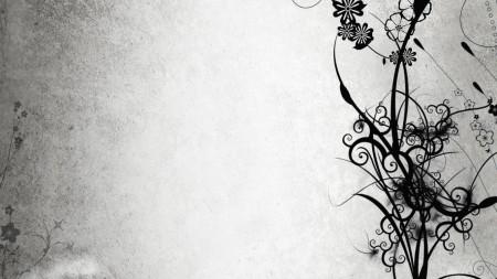 Papel de parede Fundo Branco Com Flores Pretas para download gratuito. Use no computador pc, mac, macbook, celular, smartphone, iPhone, onde quiser!