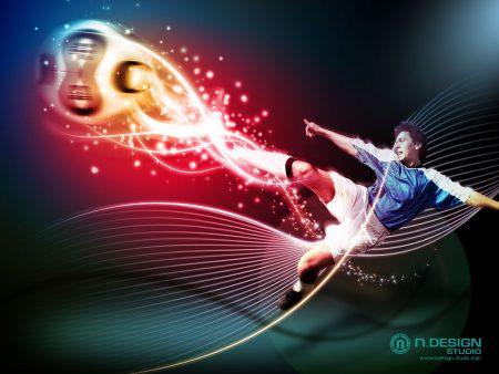 Papel de parede Futebol Arte para download gratuito. Use no computador pc, mac, macbook, celular, smartphone, iPhone, onde quiser!