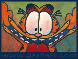 Papel de parede Garfield – careta!