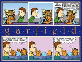 Papel de parede Garfield – tirinhas