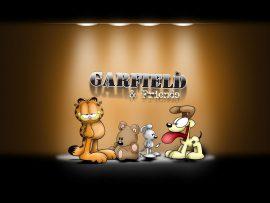 Papel de parede Garfield e amigos