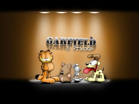 Papel de parede Garfield e amigos para download gratuito. Use no computador pc, mac, macbook, celular, smartphone, iPhone, onde quiser!
