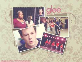 Papel de parede Glee – Cenas