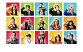 Papel de parede Glee – Personagens
