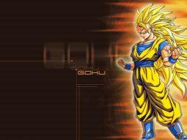 Papel de parede Goku SSJ3