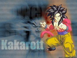 Papel de parede Goku SSJ4