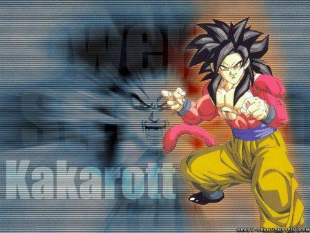 Papel de parede Goku SSJ4 para download gratuito. Use no computador pc, mac, macbook, celular, smartphone, iPhone, onde quiser!