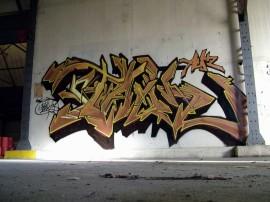Papel de parede Graffiti de Rua