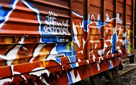 Papel de parede Graffiti no Trêm para download gratuito. Use no computador pc, mac, macbook, celular, smartphone, iPhone, onde quiser!