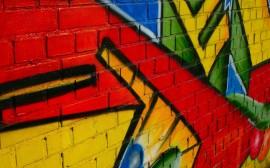 Papel de parede Grande Graffiti