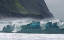 Papel de parede Grande Onda de Molokai
