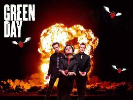 Papel de parede Green Day – Explosão