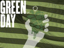 Papel de parede Green Day – Verde