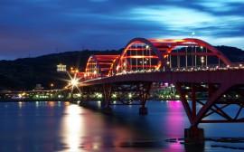 Papel de parede Ponte do Guandu em Taiwan