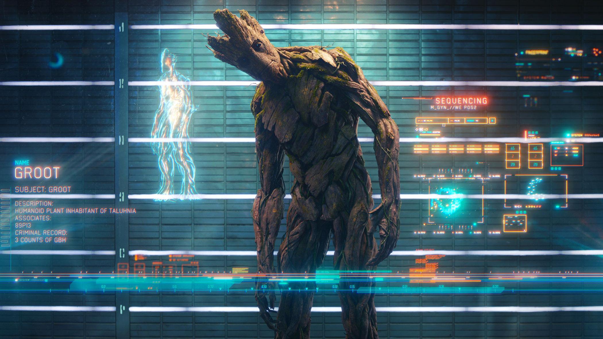 Planos De Fundo Hd Para Pc: Papel De Parede Groot: Guardiões Da Galaxia Wallpaper Para