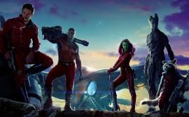 Papel de parede Cast de Guardiões da Galaxia